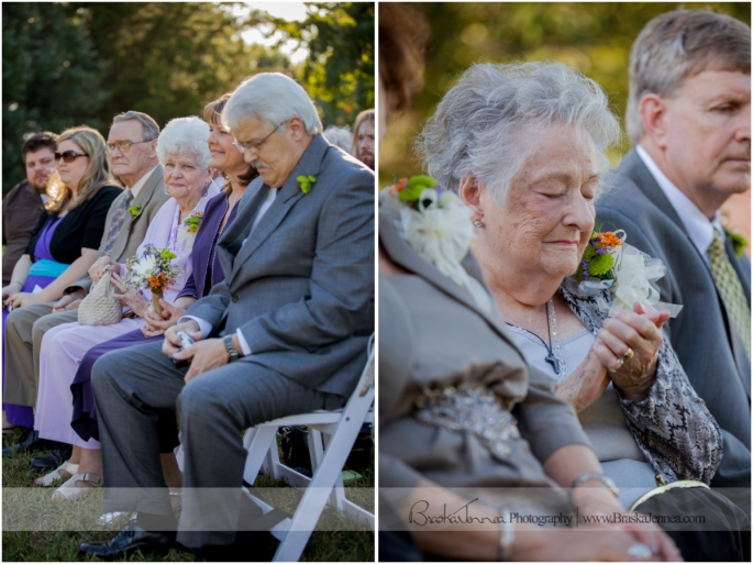 Loved how they had each family pass the wedding rings down the first row to be prayed over!