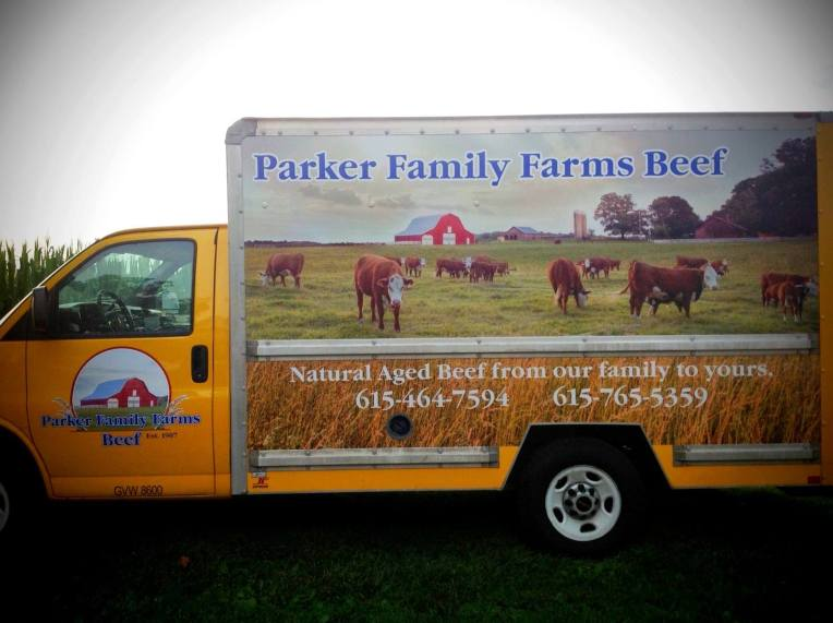 Parker Family Farms Truck