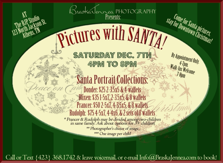 BJP Santa Pictures Flyer