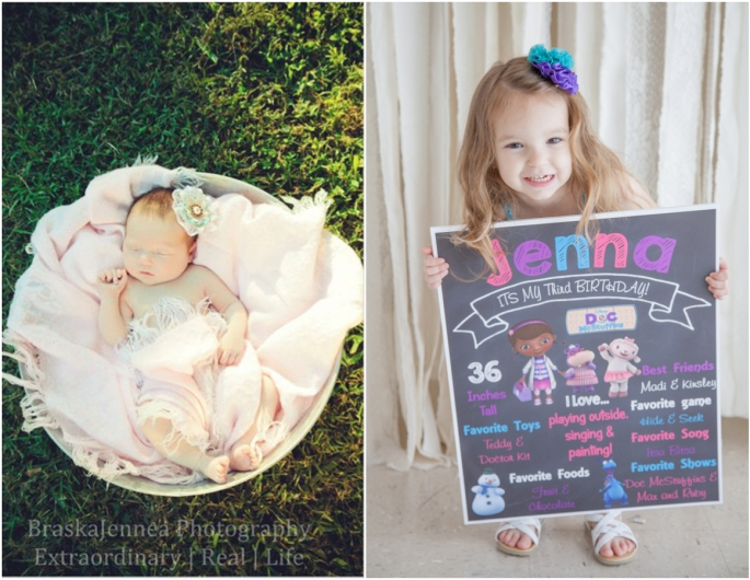 Jenna's 3rd Birthday - Athens, TN - BraskaJennea Photography-Newborn3