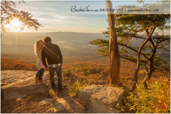 Carousel Portraits,Chattanooga Engagement,Chattanooga Photographer,Fall Couple portraits,Fall Engagement,Fall leaves,Sunset Rock,
