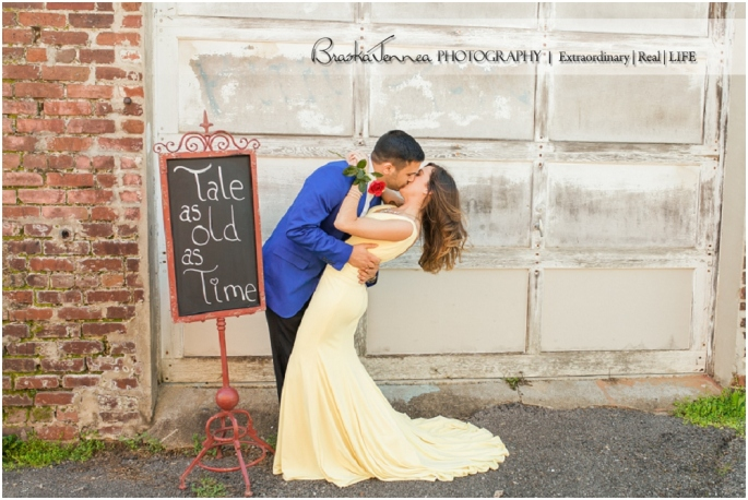 Disney Beauty and the Beast Themed Southern Spring Engagement- Knoxville Wedding Photographer - BraskaJennea Photography_0058