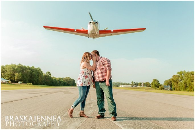 Airplane Engagement Session - Destination Wedding Photographer - BraskaJennea Photography_0001
