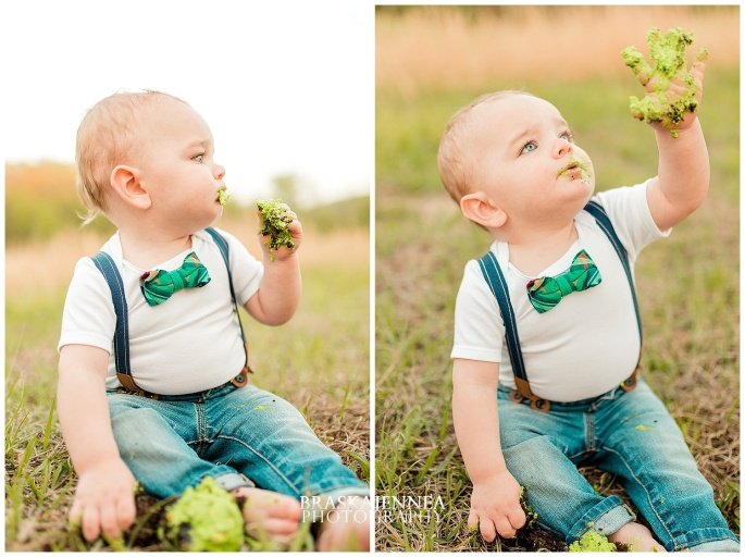 A First Birthday Cake Smash with a Splish Splash - Charleston Family Photographer - BraskaJennea Photography_0034.jpg