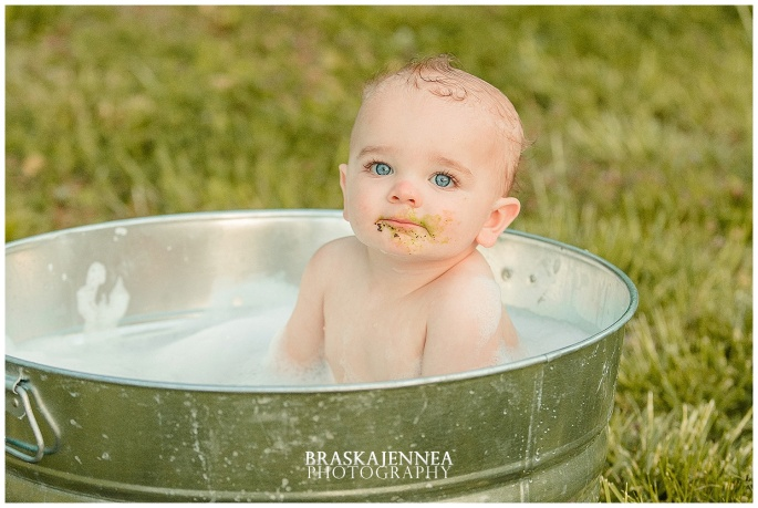 A First Birthday Cake Smash with a Splish Splash - Charleston Family Photographer - BraskaJennea Photography_0042.jpg