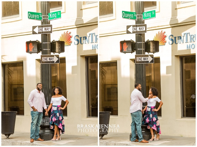 A Romantic Downtown Charleston Engagement - Charleston Wedding Photographer - BraskaJennea Photography_0008.jpg
