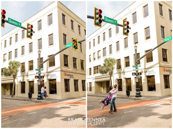 A Romantic Downtown Charleston Engagement - Charleston Wedding Photographer - BraskaJennea Photography_0009.jpg