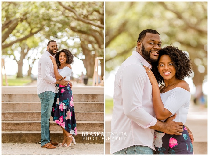 A Romantic Downtown Charleston Engagement - Charleston Wedding Photographer - BraskaJennea Photography_0011.jpg