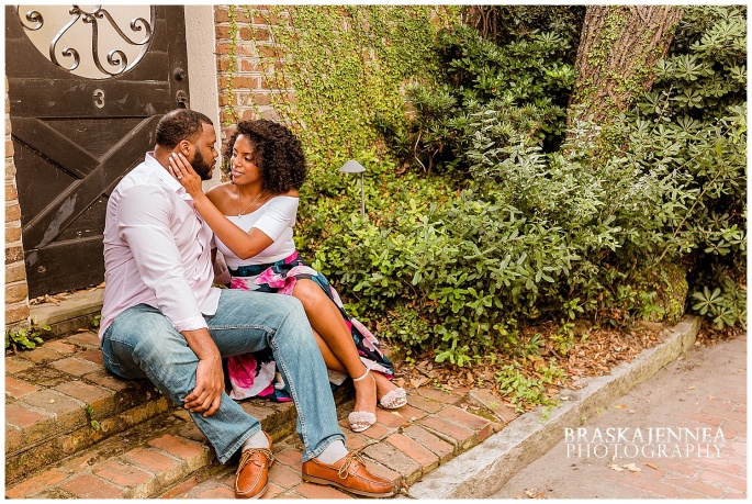 A Romantic Downtown Charleston Engagement - Charleston Wedding Photographer - BraskaJennea Photography_0034.jpg