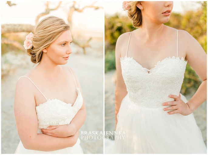 Beachy Curvy Bridal Styled Session - Charleston Wedding Photographer - BraskaJennea Photography_0014.jpg