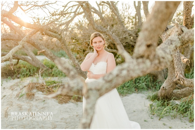 Beachy Curvy Bridal Styled Session - Charleston Wedding Photographer - BraskaJennea Photography_0015.jpg