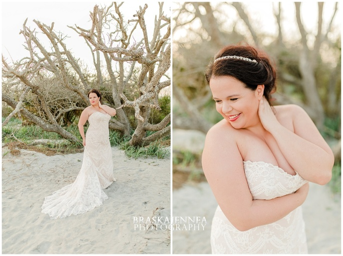 Beachy Curvy Bridal Styled Session - Charleston Wedding Photographer - BraskaJennea Photography_0021.jpg