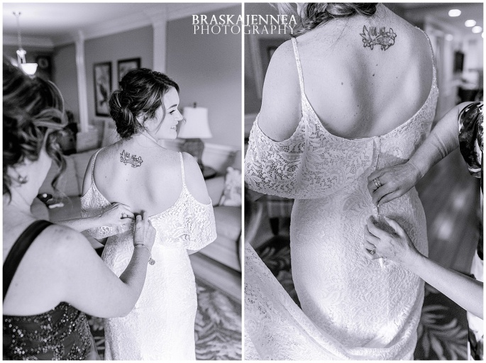 A Tybee Island Beach Wedding with a Brice Hotel Reception - Savannah Wedding Photographer - BraskaJennea Photography_0014.jpg