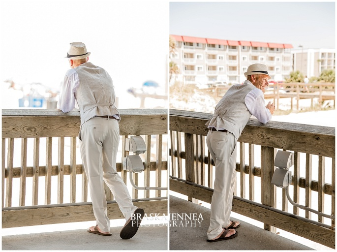 A Tybee Island Beach Wedding with a Brice Hotel Reception - Savannah Wedding Photographer - BraskaJennea Photography_0020.jpg