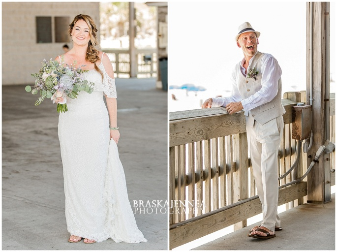 A Tybee Island Beach Wedding with a Brice Hotel Reception - Savannah Wedding Photographer - BraskaJennea Photography_0022.jpg