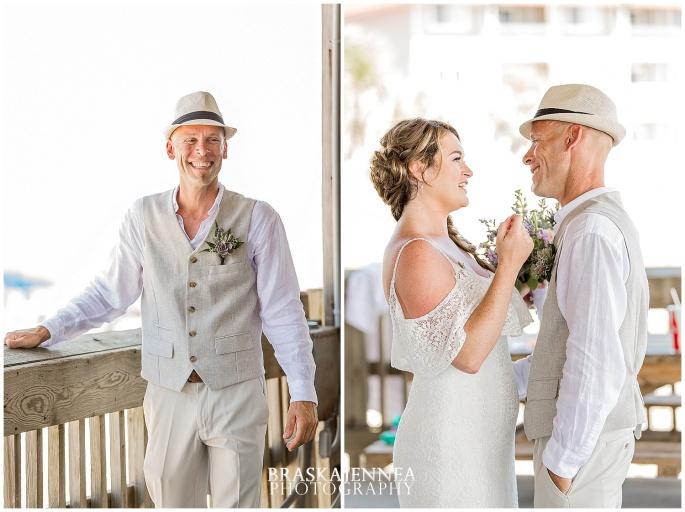 A Tybee Island Beach Wedding with a Brice Hotel Reception - Savannah Wedding Photographer - BraskaJennea Photography_0023.jpg