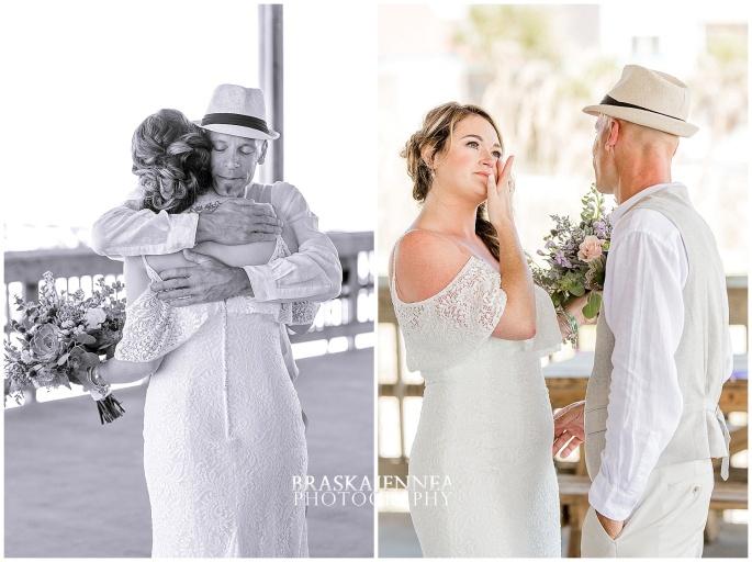 A Tybee Island Beach Wedding with a Brice Hotel Reception - Savannah Wedding Photographer - BraskaJennea Photography_0024.jpg
