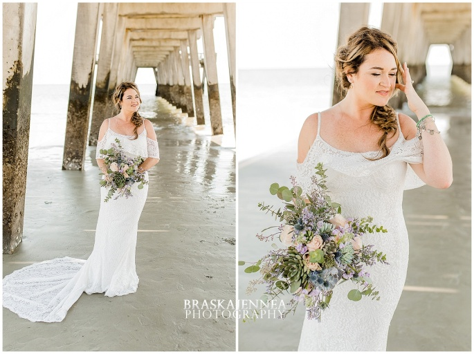 A Tybee Island Beach Wedding with a Brice Hotel Reception - Savannah Wedding Photographer - BraskaJennea Photography_0028.jpg