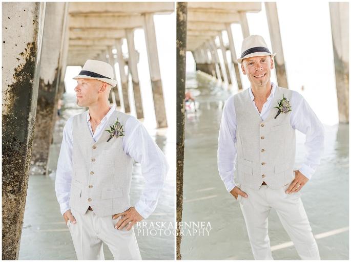 A Tybee Island Beach Wedding with a Brice Hotel Reception - Savannah Wedding Photographer - BraskaJennea Photography_0029.jpg