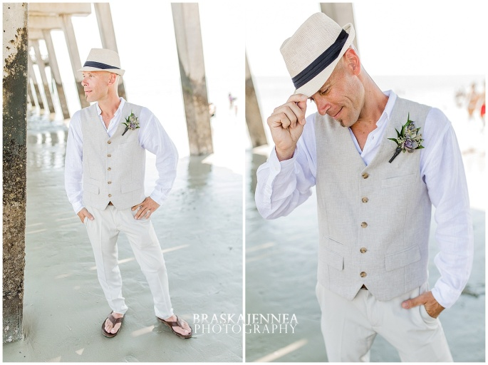 A Tybee Island Beach Wedding with a Brice Hotel Reception - Savannah Wedding Photographer - BraskaJennea Photography_0030.jpg