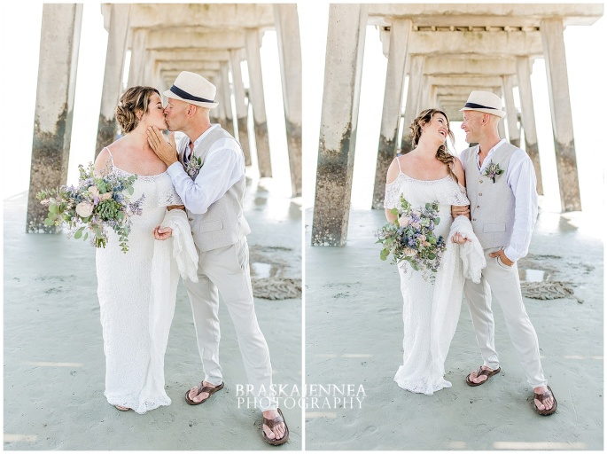A Tybee Island Beach Wedding with a Brice Hotel Reception - Savannah Wedding Photographer - BraskaJennea Photography_0034.jpg