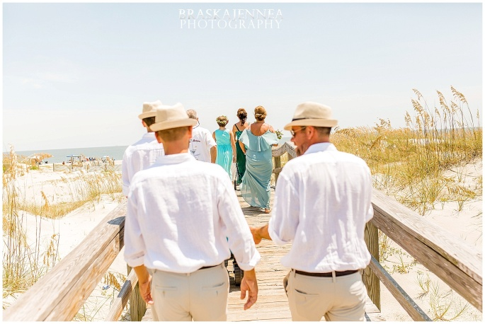 A Tybee Island Beach Wedding with a Brice Hotel Reception - Savannah Wedding Photographer - BraskaJennea Photography_0042.jpg