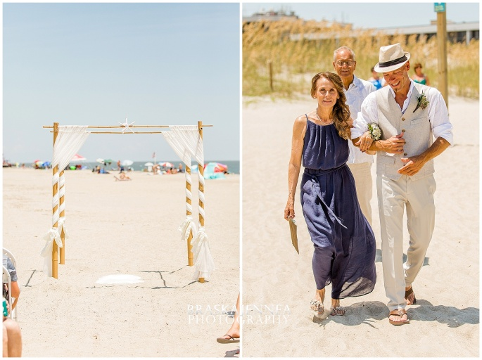 A Tybee Island Beach Wedding with a Brice Hotel Reception - Savannah Wedding Photographer - BraskaJennea Photography_0043.jpg