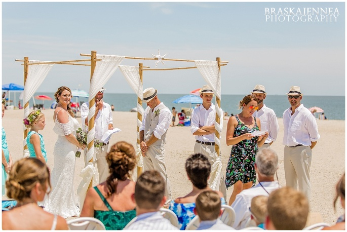 A Tybee Island Beach Wedding with a Brice Hotel Reception - Savannah Wedding Photographer - BraskaJennea Photography_0052.jpg