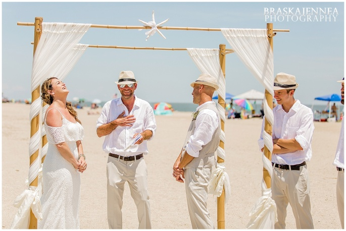 A Tybee Island Beach Wedding with a Brice Hotel Reception - Savannah Wedding Photographer - BraskaJennea Photography_0053.jpg