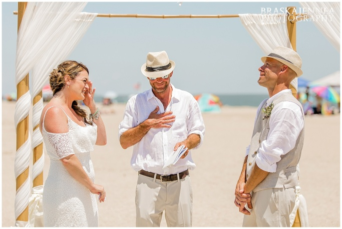 A Tybee Island Beach Wedding with a Brice Hotel Reception - Savannah Wedding Photographer - BraskaJennea Photography_0054.jpg