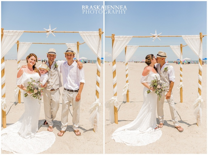 A Tybee Island Beach Wedding with a Brice Hotel Reception - Savannah Wedding Photographer - BraskaJennea Photography_0064.jpg