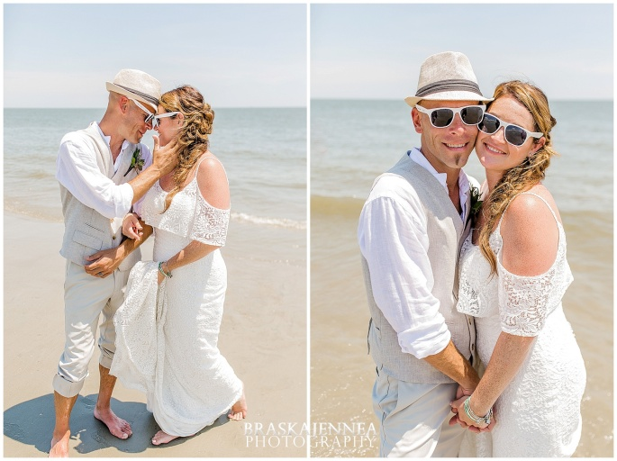 A Tybee Island Beach Wedding with a Brice Hotel Reception - Savannah Wedding Photographer - BraskaJennea Photography_0066.jpg