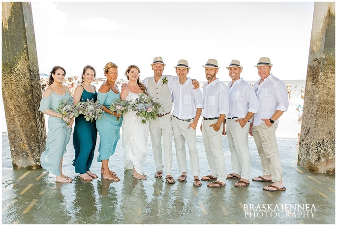 A Tybee Island Beach Wedding with a Brice Hotel Reception - Savannah Wedding Photographer - BraskaJennea Photography_0077.jpg