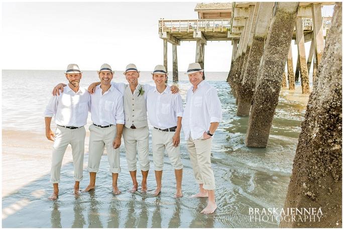 A Tybee Island Beach Wedding with a Brice Hotel Reception - Savannah Wedding Photographer - BraskaJennea Photography_0080.jpg