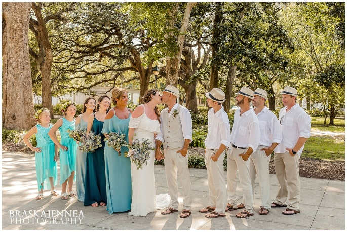 A Tybee Island Beach Wedding with a Brice Hotel Reception - Savannah Wedding Photographer - BraskaJennea Photography_0087.jpg