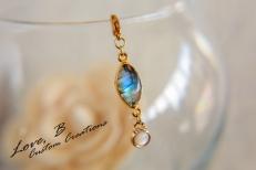 Curvy Friendly Nickel Free Trendy Gemstone Jewelry - Love, B Custom Jewelry Creations- BraskaJennea Photography-23