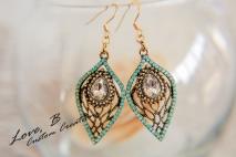 Curvy Friendly Nickel Free Trendy Gemstone Jewelry - Love, B Custom Jewelry Creations- BraskaJennea Photography-26