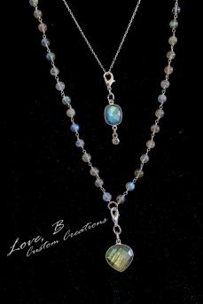 Curvy Friendly Nickel Free Trendy Gemstone Jewelry - Love, B Custom Jewelry Creations- BraskaJennea Photography-64
