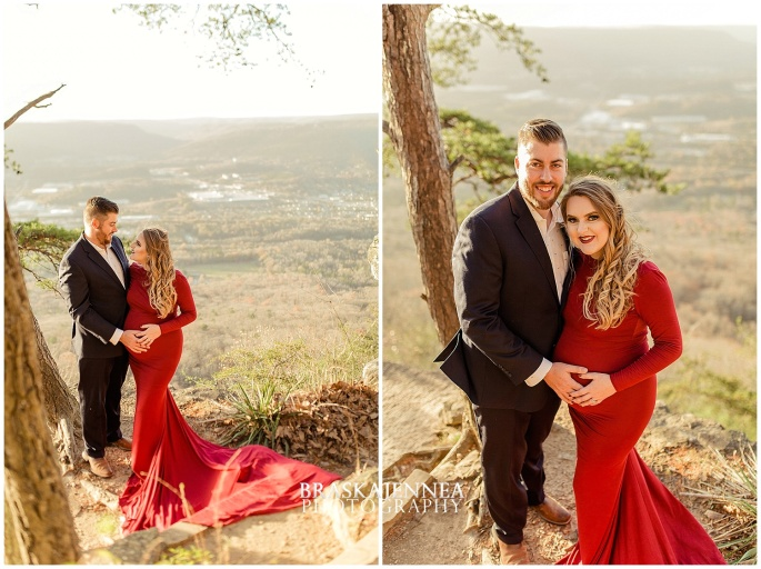 A Lookout Mountain Sunset Rock Maternity Session - Chattanooga Family Photographer - BraskaJennea Photography_0001.jpg