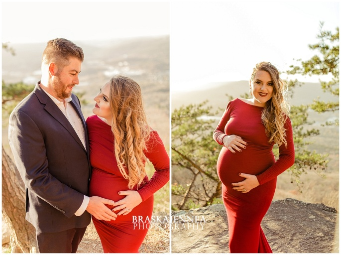 A Lookout Mountain Sunset Rock Maternity Session - Chattanooga Family Photographer - BraskaJennea Photography_0004.jpg