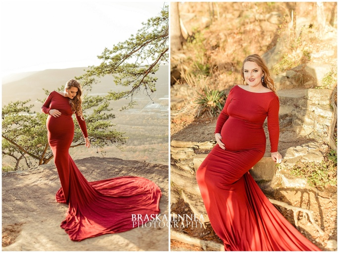 A Lookout Mountain Sunset Rock Maternity Session - Chattanooga Family Photographer - BraskaJennea Photography_0006.jpg