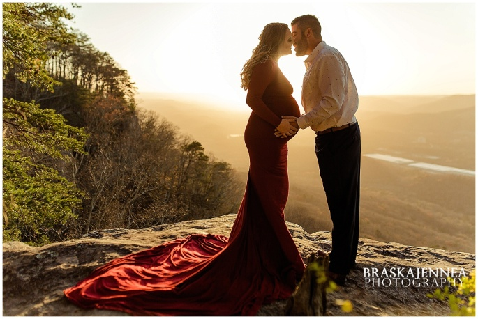 A Lookout Mountain Sunset Rock Maternity Session - Chattanooga Family Photographer - BraskaJennea Photography_0015.jpg
