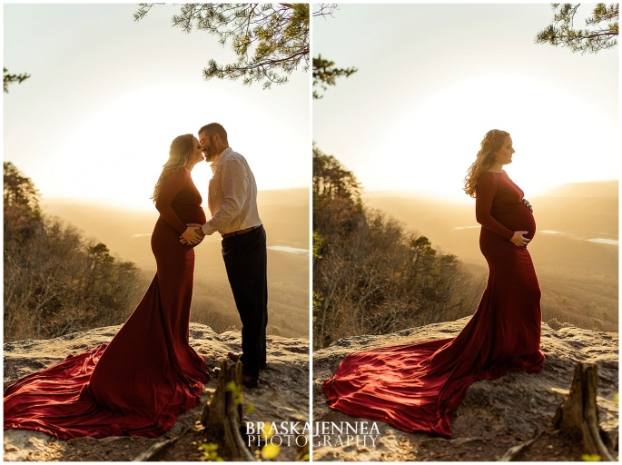 A Lookout Mountain Sunset Rock Maternity Session - Chattanooga Family Photographer - BraskaJennea Photography_0017.jpg