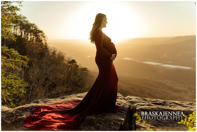 A Lookout Mountain Sunset Rock Maternity Session - Chattanooga Family Photographer - BraskaJennea Photography_0018.jpg