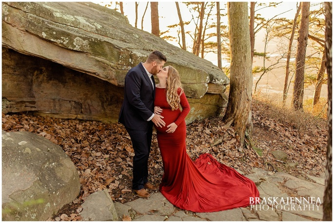 A Lookout Mountain Sunset Rock Maternity Session - Chattanooga Family Photographer - BraskaJennea Photography_0023.jpg