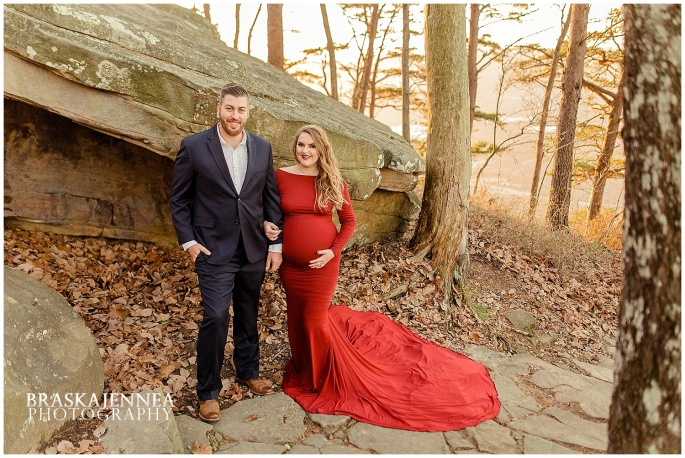 A Lookout Mountain Sunset Rock Maternity Session - Chattanooga Family Photographer - BraskaJennea Photography_0026.jpg