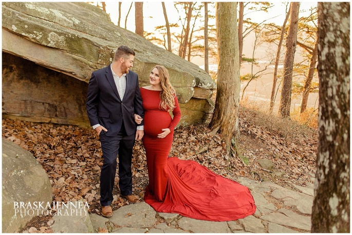 A Lookout Mountain Sunset Rock Maternity Session - Chattanooga Family Photographer - BraskaJennea Photography_0027.jpg