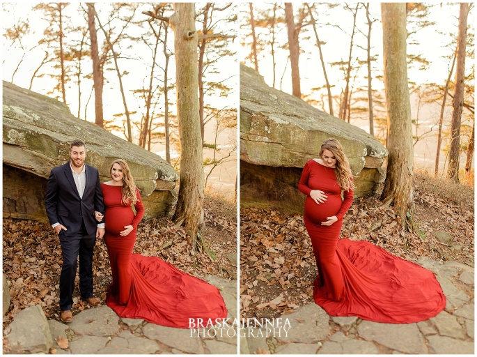 A Lookout Mountain Sunset Rock Maternity Session - Chattanooga Family Photographer - BraskaJennea Photography_0030.jpg