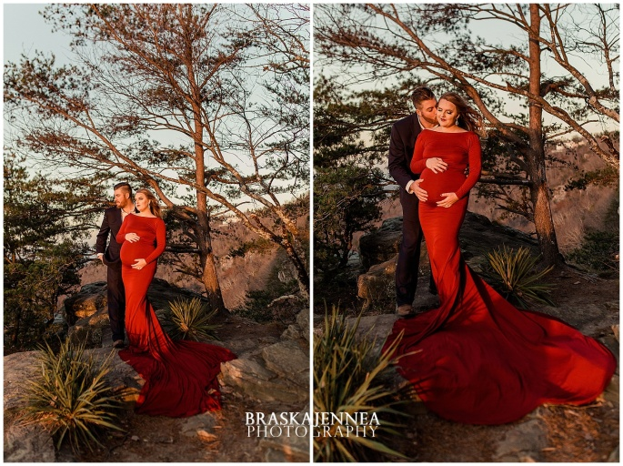 A Lookout Mountain Sunset Rock Maternity Session - Chattanooga Family Photographer - BraskaJennea Photography_0032.jpg