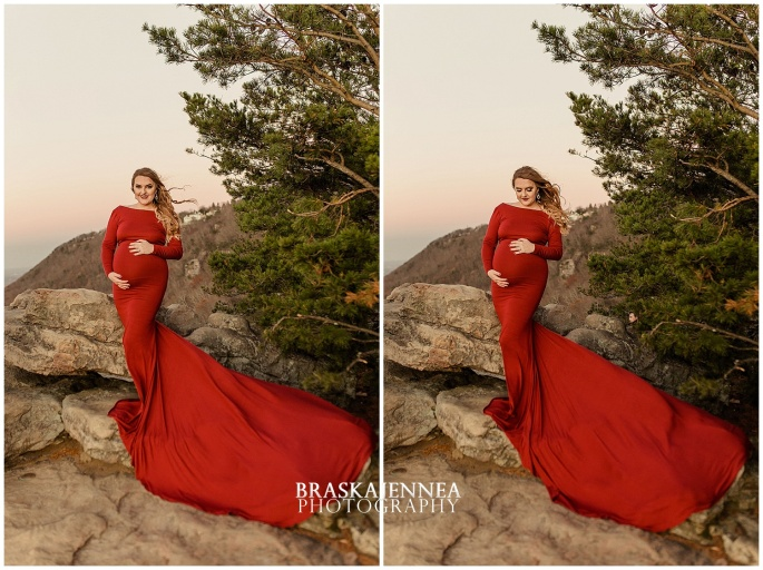 A Lookout Mountain Sunset Rock Maternity Session - Chattanooga Family Photographer - BraskaJennea Photography_0035.jpg